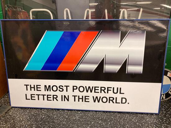 BMW-M, The Most Powerful Letter in the World Poster