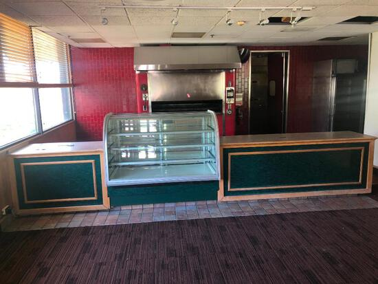 Front Counter & Pie Display Case