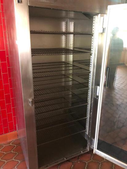 Traulsen 3 Section Glass Door Refrigerator