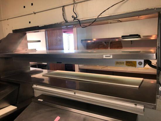 Stainless Steel Warming Window & Shelf