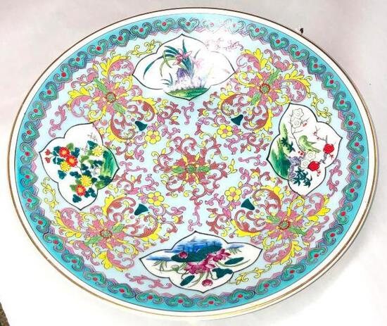 Colorful China Plate