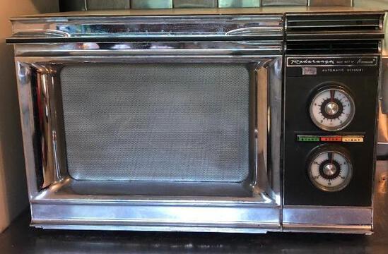 "Vintage ""Radarange""...Microwave"