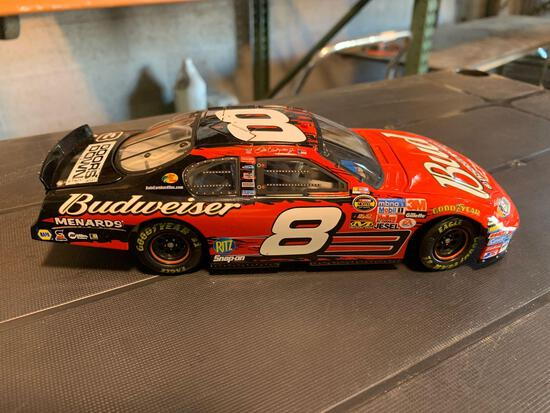 #8 Budweiser Chevy rock and roll car