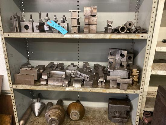 3 Shelves of assorted tooling for lot 1