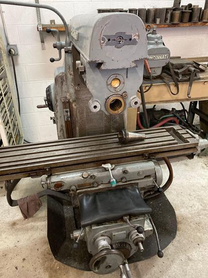 Cincinnati no. 2 milling machine, serial no. 2j2u6c-3