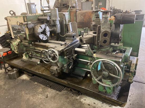 Warner Swasey 2A lathe, M-3470, serial 1862778