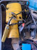 Overhead trolley crane motor, needs some repair