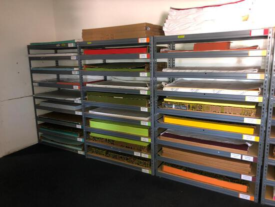 (3) Sections of Light Duty Office/Warehouse Racking (sells for one money)