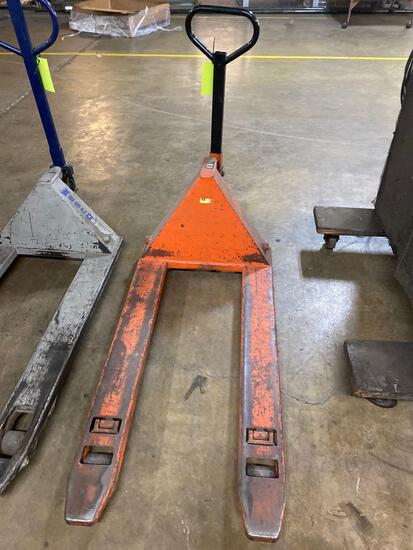 Zenith 5500 pound pallet jack, in working condition