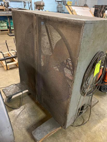 Large box fan, in working condition, approx 48 x 48 inches