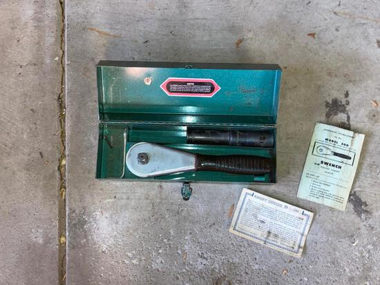 Vintage Swench Manual Impact Driver in Metal Case