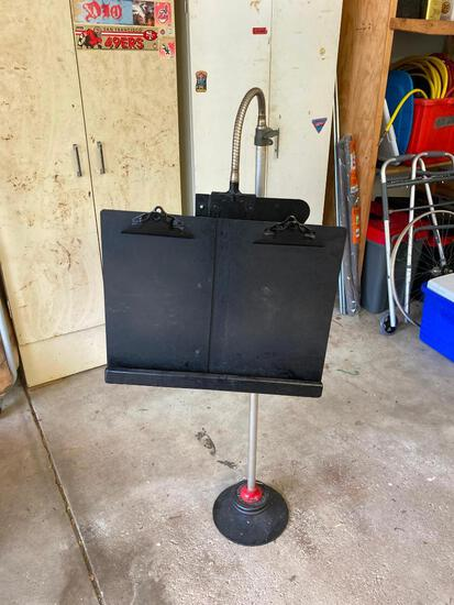 Home Made Weighted Music Stand