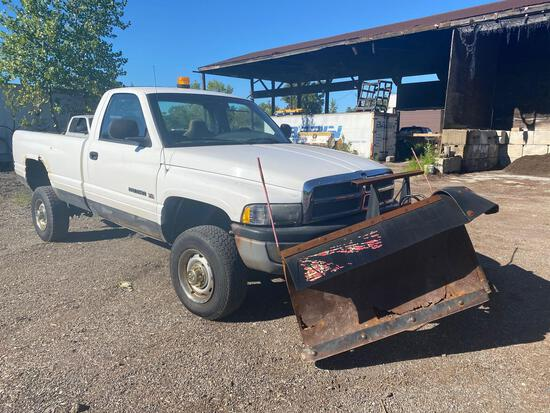 2001 Dodge Ram 2500 Plow Truck