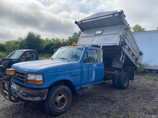 1993 Ford F-450 7.3 Diesel Plow Truck