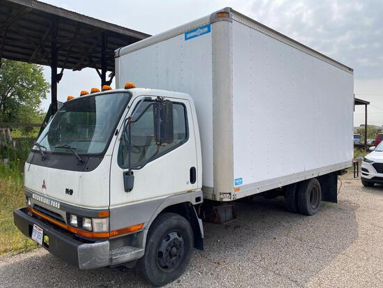 2000 Mitsubishi Fuso Box Truck