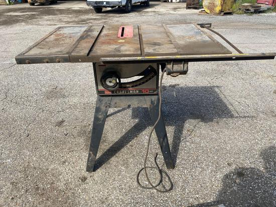 Sears Craftsman 10in table saw