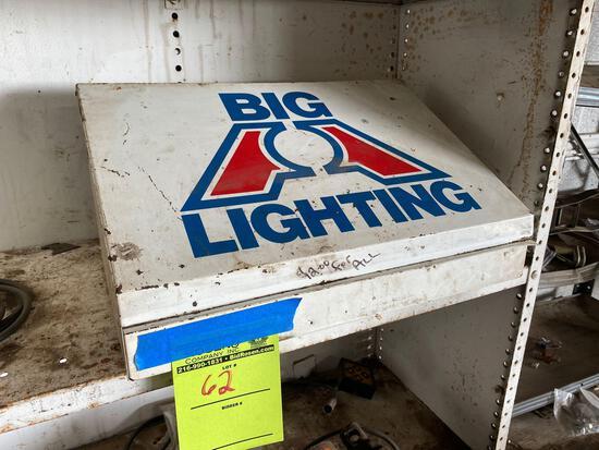BIG Lighting Co Lightbulb Metal Display Box