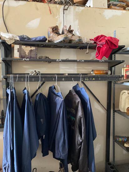 Uniform hanger-no contents