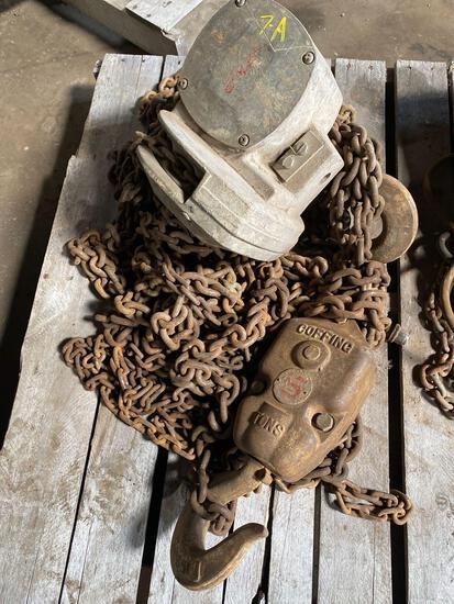 Coffing 5 Ton Chain Hoist