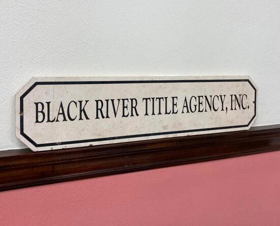 Black River Title Agency Sign