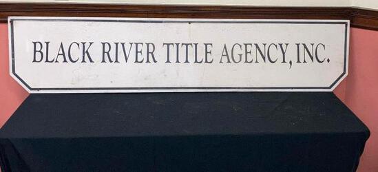 Black River Title Agency Sign