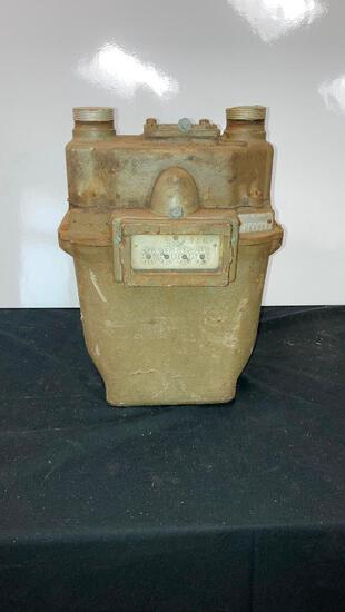 Vintage Rockwell EMCO No.1 Gas Meter
