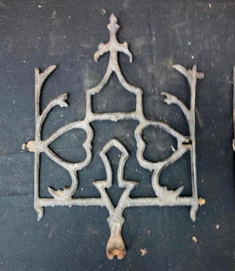 Cast Iron Widow's Walk Metal Grates / Fencing X 1