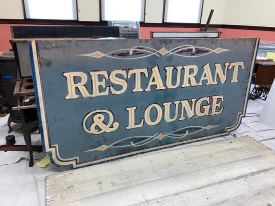 Restaurant & Lounge Sign
