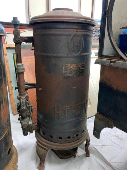 Antique Hoffman Water Heater