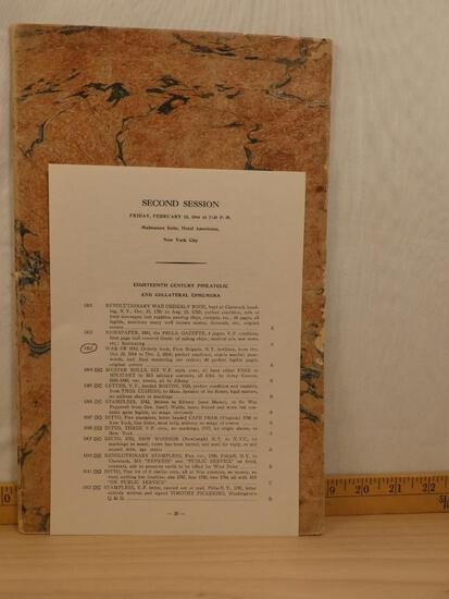 RARE Historical Document- Batalion Orders in Ledger