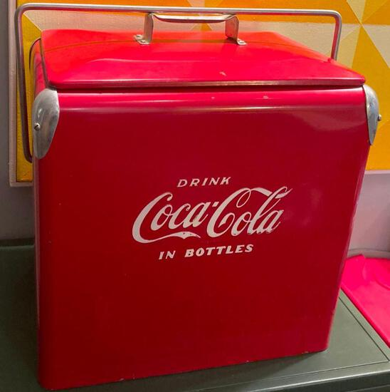 VERY RARE and VERY COOL! Vintage Coke Cooler - NEW IN ORIGINAL BOX