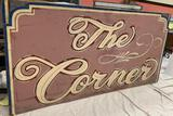 The Corner Restaurant Sign