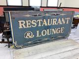 Restaurant & Lounge Sign