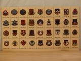 Antique and Collectable Military Insignia Unit Crest Pins