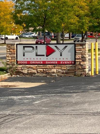 Play Arcade & Kitchen - Marquee Light Up Sign
