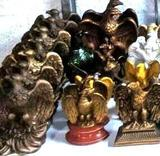 Lot of Eagle Statues