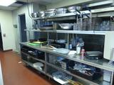 Stainless Steel Kitchen Line - No contents. LOOK AT PICTURES