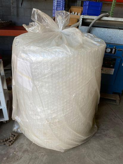 (1) Roll of 48in x 250ft of bubble wrap