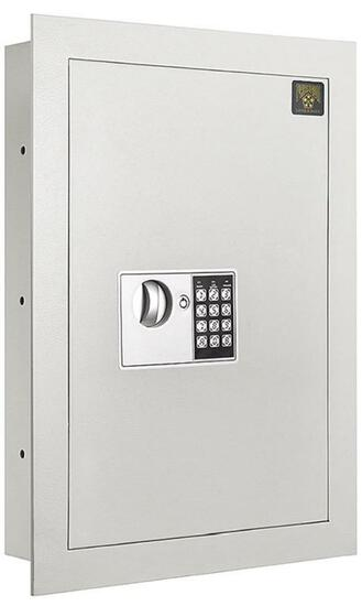 7700 Flat Electronic Wall Safe .83 CF for Large Jewelry Security-Paragon Wall Mount Lock & Safe