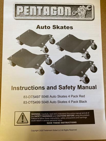 New in Box(NIB) Pentagon Steel Auto Skates