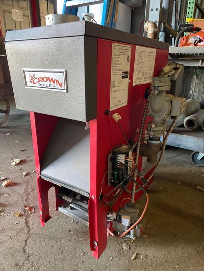 Crown Co Gas 50k BTU Output Boiler Unit