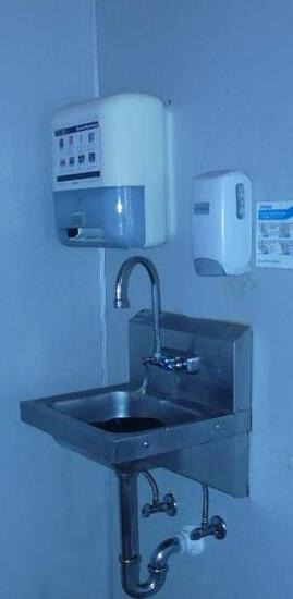 Hand Washing Station by Service Bar