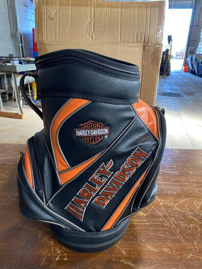 New Mini Harley Davidson Golf Bag approx 21 in tall