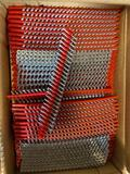 (4) cases of Hilti 6x1.25 in Collated Metal Stud Drywall Screws-times 4 cases-32000 pcs total