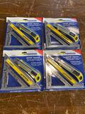 (4) New Swanson Co Speed Square and Knife sets