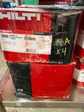 (4) cases of Hilti S-MD12, 24x7/8 Self Tapping Fasteners-tames 4 cases-16000 pcs