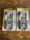 (2) New Defiant Co 2 pack LED Penlight sets