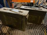 (2) Small Ammo Boxes.