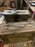 (2) Small Ammo Boxes