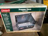 Sealed in box Coleman LP Camping Stove